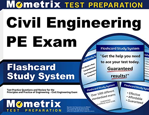 9781630941611: Civil Engineering PE Exam Flashcard Study System: Civil Engineering PE Test Practice Questions & Review for the Principles and Practice of Engineering - Civil Engineering Exam (Cards)