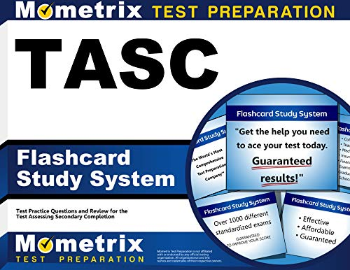 9781630941833: Tasc Flashcard Study System: Tasc Test Practice Questions and Exam Review for the Test Assessing Secondary Completion