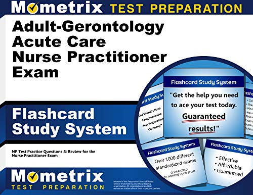 9781630942724: Adult-Gerontology Acute Care Nurse Practitioner Exam Flashcard Study System: NP Test Practice Questions & Review for the Nurse Practitioner Exam (Cards)