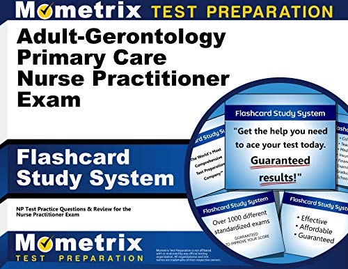 9781630942748: Adult-Gerontology Primary Care Nurse Practitioner Exam Flashcard Study System: NP Test Practice Questions & Review for the Nurse Practitioner Exam