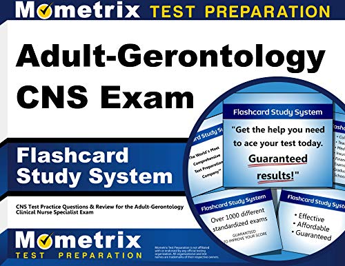 9781630942878: Adult-Gerontology CNS Exam Flashcard Study System: CNS Test Practice Questions & Review for the Adult-Gerontology Clinical Nurse Specialist Exam (Cards)