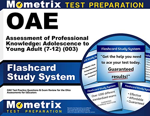 9781630944209: OAE Assessment of Professional Knowledge: Adolescence to Young Adult (7-12) (003) Flashcard Study System: OAE Test Practice Questions & Exam Review for the Ohio Assessments for Educators (Cards)