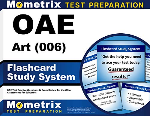 9781630944285: OAE Art (006) Flashcard Study System: OAE Test Practice Questions & Exam Review for the Ohio Assessments for Educators (Cards)