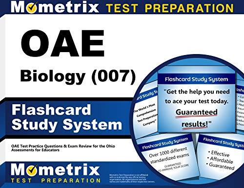 OAE Biology (007) Flashcard Study System: OAE: OAE Exam Secrets