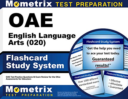 9781630944483: OAE English Language Arts (020) Flashcard Study System: OAE Test Practice Questions & Exam Review for the Ohio Assessments for Educators (Cards)