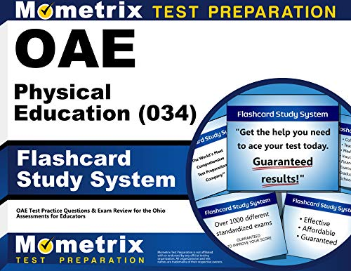 9781630944728: OAE Physical Education (034) Flashcard Study System: OAE Test Practice Questions & Exam Review for the Ohio Assessments for Educators (Cards)
