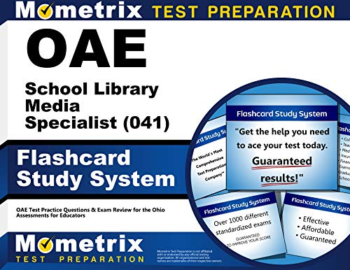 9781630944827: OAE School Library Media Specialist (041) Flashcard Study System: OAE Test Practice Questions & Exam Review for the Ohio Assessments for Educators (Cards)