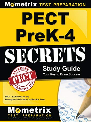9781630945008: PECT PreK-4 Secrets Study Guide: PECT Test Review for the Pennsylvania Educator Certification Tests