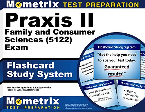 9781630948177: Praxis II Family and Consumer Sciences (5122) Exam Flashcard Study System: Praxis II Test Practice Questions & Review for the Praxis II: Subject Assessments