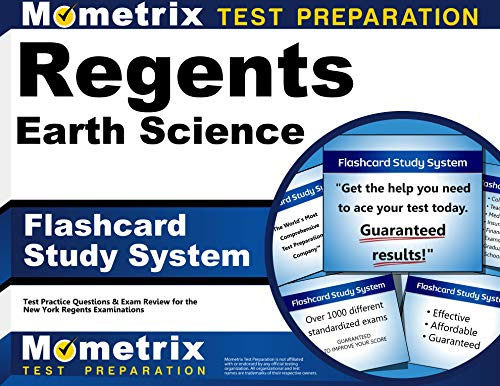 9781630948290: Regents Earth Science Exam Flashcard Study System: Regents Test Practice Questions & Review for the New York Regents Examinations