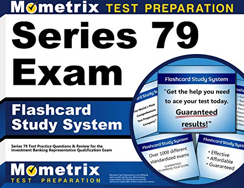 9781630948368: Series 79 Exam Flashcard Study System: Series 79 Test Practice Questions & Review for the Investment Banking Representative Qualification Exam