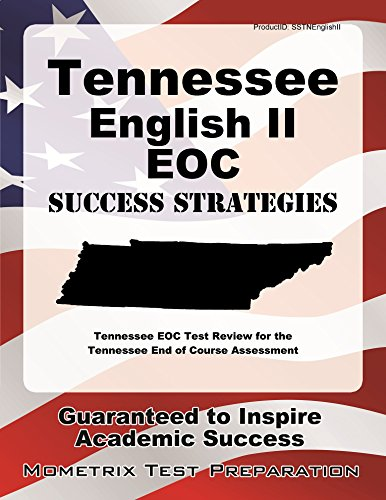 9781630948832: Tennessee English II EOC Success Strategies Study Guide: Tennessee EOC Test Review for the Tennessee End of Course Assessment