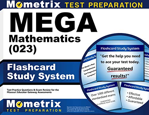 9781630949181: MEGA Mathematics (023) Flashcard Study System: MEGA Test Practice Questions & Exam Review for the Missouri Educator Gateway Assessments