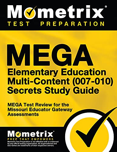 9781630949532: MEGA Elementary Education Multi-Content (007-010) Secrets Study Guide: MEGA Test Review for the Missouri Educator Gateway Assessments