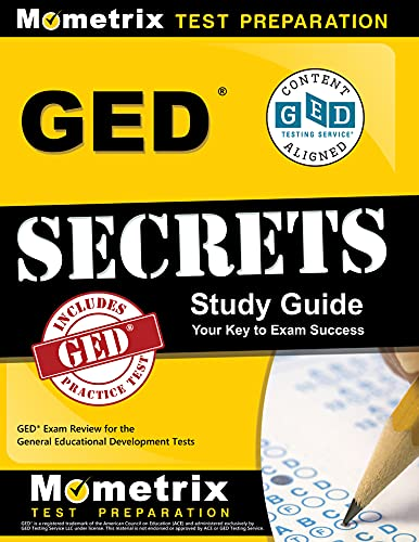9781630949921: GED Secrets Study Guide: GED Exam Review for the General Educational Development Tests