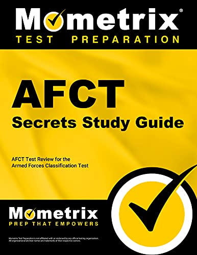 9781630949938: AFCT Secrets Study Guide: AFCT Test Review for the Armed Forces Classification Test