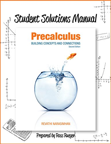 9781630980412: Student Solutions Manual for Precalculus