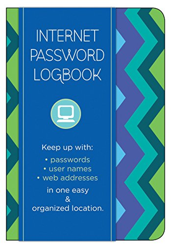 9781631060373: Internet Password Logbook - Pattern Edition: Keep track of: usernames, passwords, web addresses in one easy & organized location