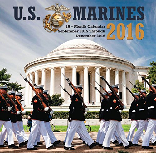 9781631061059: U.S. Marines 2016 Mini: 16-Month Calendar September 2015 through December 2016