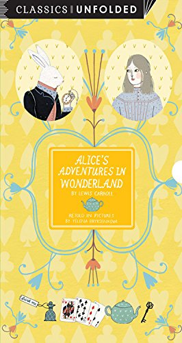 9781631061387: Alice's Adventures in Wonderland Unfolded: Retold in pictures by Yelena Brysenskova - See the world's greatest stories unfold in 14 scenes (Classics Unfolded)