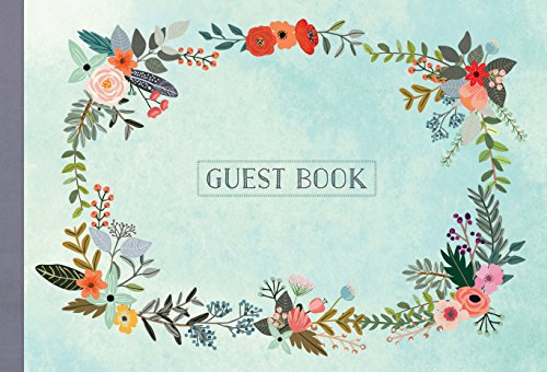 Guest Book: Illustrated Nature Edition (Hardcover): Holly Ward Bimba