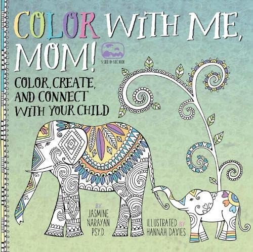 9781631061981: Color with Me, Mom!: Color, Create, and Connect with Your Child (A Side-by-Side Book)