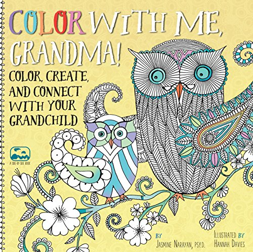 Color with Me, Grandma!: Color, Create, and Connect with Your Grandchild (A Side-by-Side Book): ...