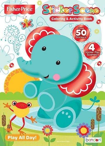 9781631097140: Fisher Price Sticker Scene
