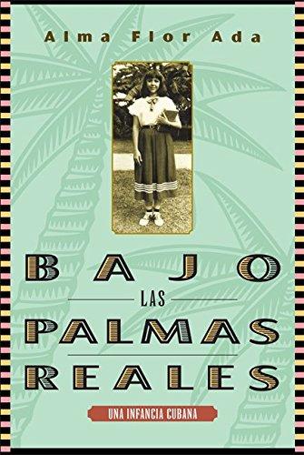 9781631139710: Bajo las palmas reales/ Under the Royal Palms: Una Incancia Cubana / a Childhood in Cuba (Spanish Edition)