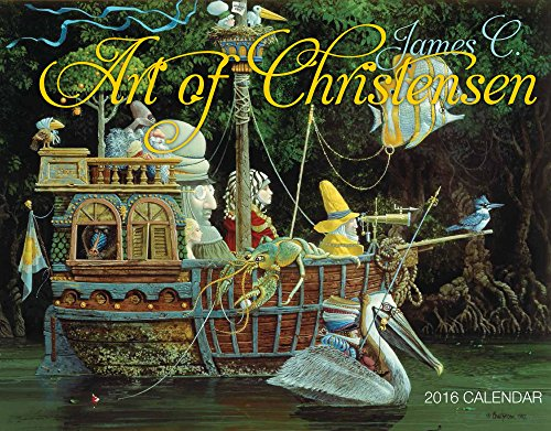 9781631140341: Art of James C. Christensen 2016 Calendar