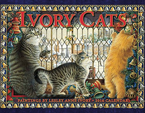 Ivory Cats 2016 Calendar 11x14: Lesley Anne Ivory