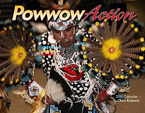 9781631140716: Powwow Action 2016 Calendar 11x14 (Native American)