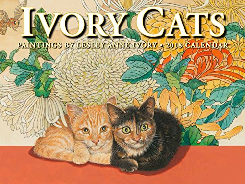 Ivory Cats 2018 Calendar: Lesley Anne Ivory