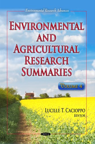 Environmental Agricultural Research Summaries: Volume 4 (Hardback)