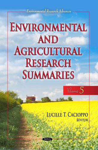 Environmental Agricultural Research Summaries: Volume 5 (Hardback)