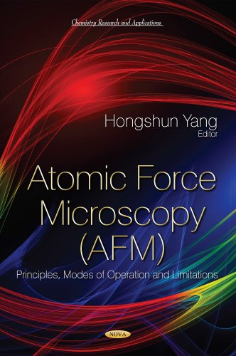 9781631171727: Atomic Force Microscopy Afm: Principles, Modes of Operation and Limitations (Chemistry Research and Application)