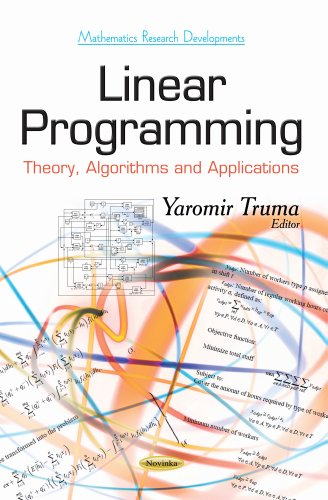 9781631174735: Linear Programming (Mathematics Research Developments)