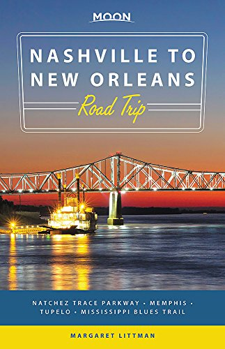 Moon Nashville to New Orleans Road Trip Format: Paperback