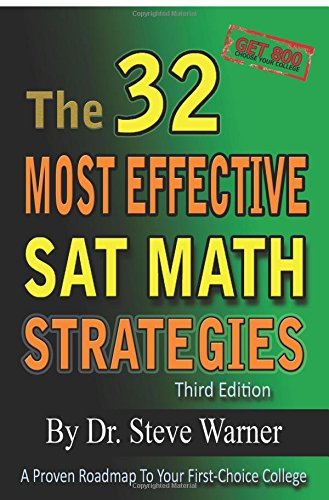 9781631226953: The 32 Most Effective SAT Math Strategies
