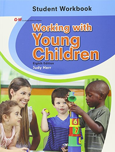 9781631260254: Working with Young Children Student Workbook