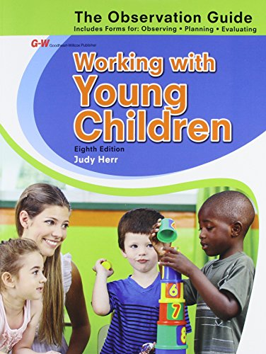9781631260261: Working with Young Children Observation Guide