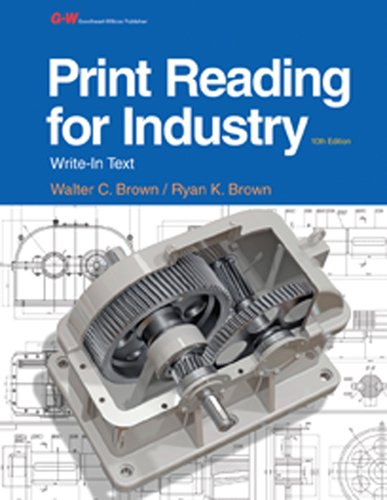 9781631260513: Print Reading for Industry