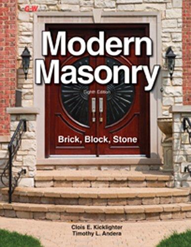 9781631260957: Modern Masonry: Brick, Block, Stone