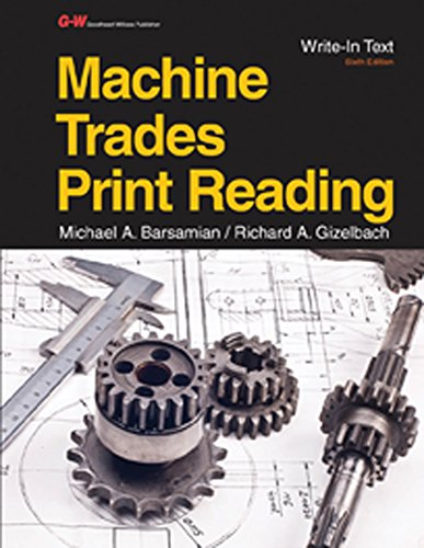 9781631261053: Machine Trades Print Reading