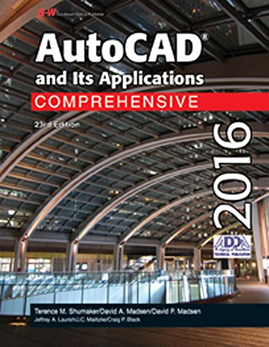 9781631264313: AutoCAD and Its Applications Comprehensive 2016