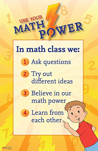 9781631330575: Use Your Math Power Poster
