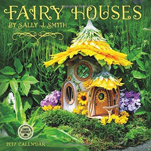 9781631361395: Fairy Houses 2017 Wall Calendar