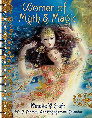 9781631361920: Women of Myth & Magic 2017 Fantasy Art Engagement Datebook Calendar