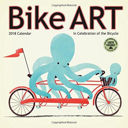 Bike Art Mini Calendar 2018: Amber Lotus Publishing