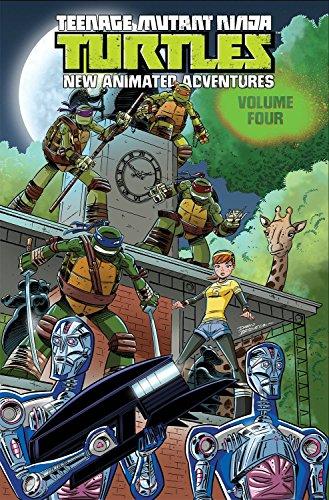 9781631402098: Teenage Mutant Ninja Turtles: New Animated Adventures Volume 4
